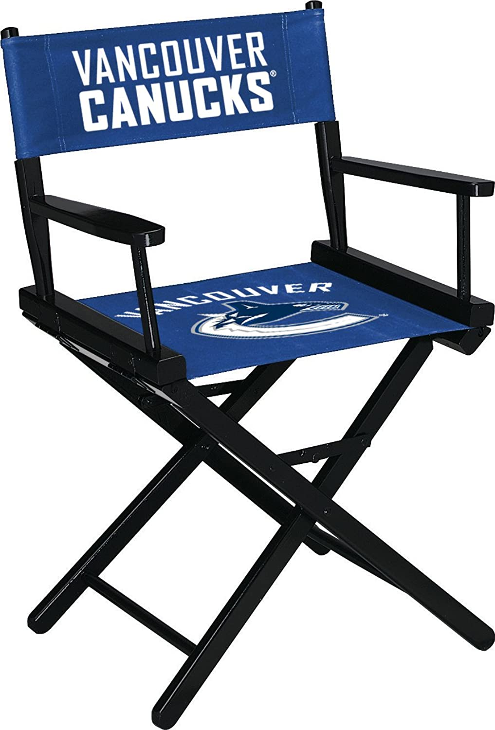 Imperial Officially Licensed NHL Merchandise  Directors Chair (Short, Table Height), Vancouver Canucks