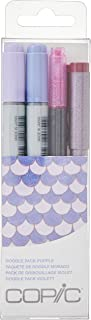 Copic Marker Copic Doodle Art Markers, Purple, 4 Count