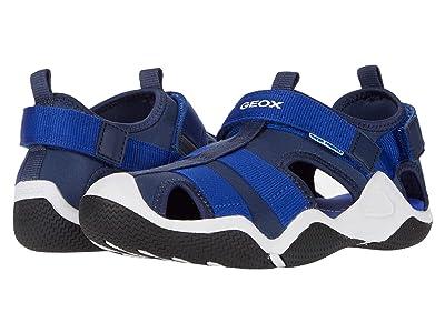 Geox Kids Wader 11 (Big Kid) (Blue Azure) Boy