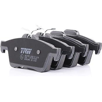 TRW GDB3501 Bremsbelagsatz 4-teilig Scheibenbremse