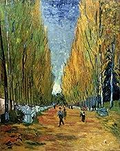 Feeling at home Impresion-en-Papel-Allée-Des-Alyscamps-Van-Gogh,-Vincent-Figurativo-93_X_76_cm