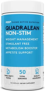 quadralean nutrition facts