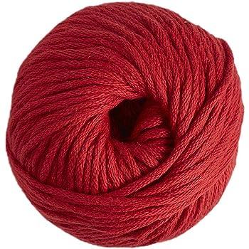 DMC Natura Ovillo, 100% algodón, Color 05 Rojo, XL: Amazon.es: Hogar