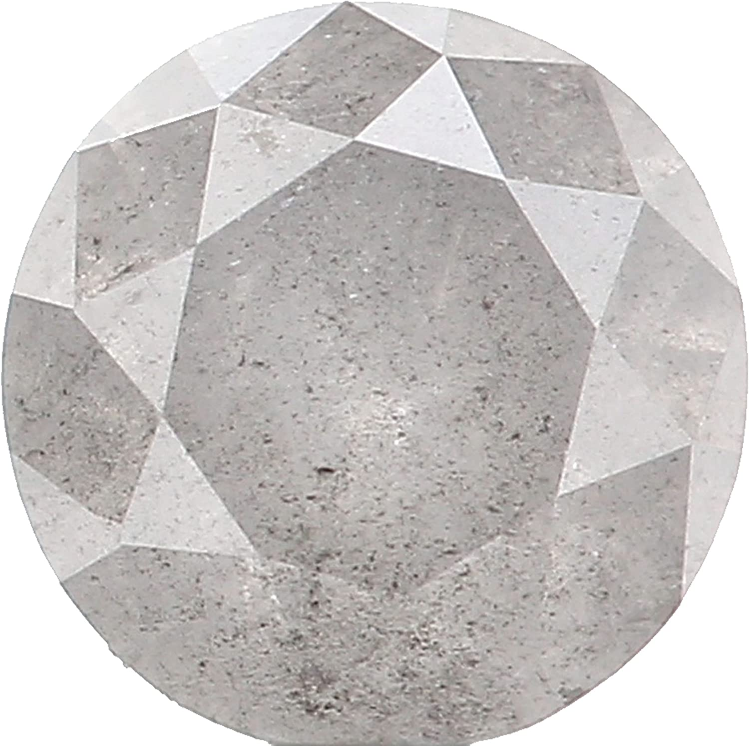 0.49 Ct Natural Loose Round Grey Roun A surprise price is realized Now on sale Diamond