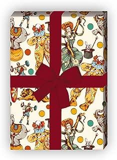 Format DIN B1 ideal als Verpackung nicht nur f/ür Kindergeschenke sondern auch f/ür Erwachsene zu empfe 12 Bogen a 1000 x 700 mm l/ächelnde Blumen Herzen V/ögel Sterne Geschenkpapier sch/önes Motiv mit bunten lachenden Elefanten