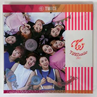 JYP Ent. Twice - TWICEcoaster : Lane 1 [Neon Magenta B ver.] CD+Photobook+Photocard+Extra Photocards Set