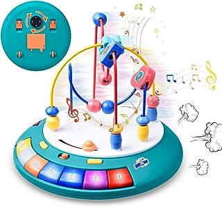 GJZZ Baby Toys 6 to 12 - 18 Months, Bead Maze Einstein...
