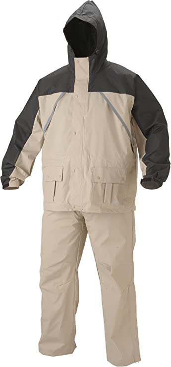 Coleman Pvc Nylon Rain Suit Sports Outdoors