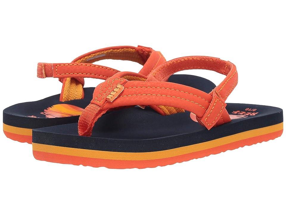 Reef Kids Ahi (Infant/Toddler/Little Kid/Big Kid) (Sunset 2) Boys Shoes