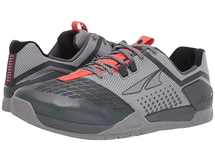 Altra Footwear  HIIT XT 2 (Gray/Orange) Mens Running Shoes