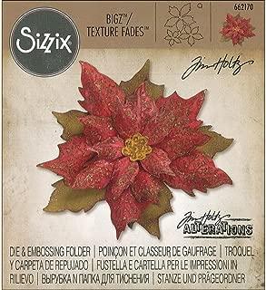 Sizzix Tholtz Bigz Die/TF Layered Tat Poinsettis W Poin
