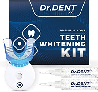 DrDent Premium Teeth Whitening Kit Non-Sensitive | LED Light