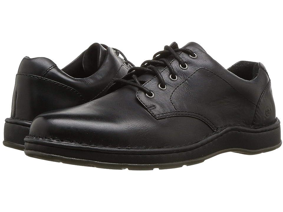 Born Karl (Black Full Grain Leather) Men