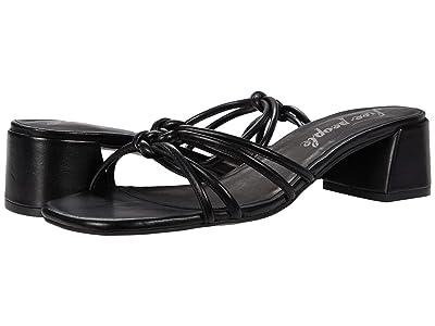 Free People Petra Block Heel (Black) Women