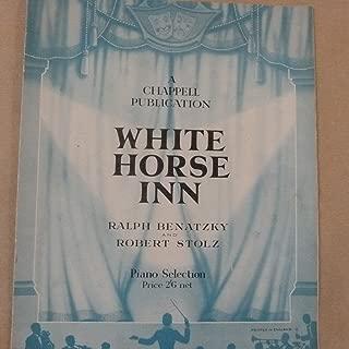 piano selection WHITE HORSE INN arr guy jones