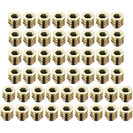 Bolt Plastic Insert 8mm M4 Internal 8mm Long M4 Nut PACK OF 8 *RR06*