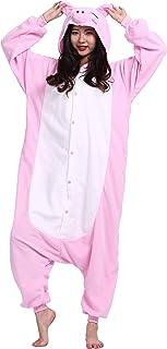 a971169430bce CuteOn Unisexe Adulte Dessin animé Animal Kigurumi Pyjamas Vêtements de  nuit Encapuchonné Cosplay Costume