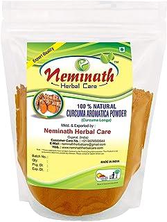 Neminath Herbal Care Curcuma Powder/Turmeric Rhizome (CURCUMA AROMATICA) Powder for YOUNGER LOOKING SKIN (1/2 lb / 8 ounce...