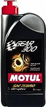 Motul Gear 300 Fully Synthetic Gearbox Oil - 75W90 1L (Pack of 4)