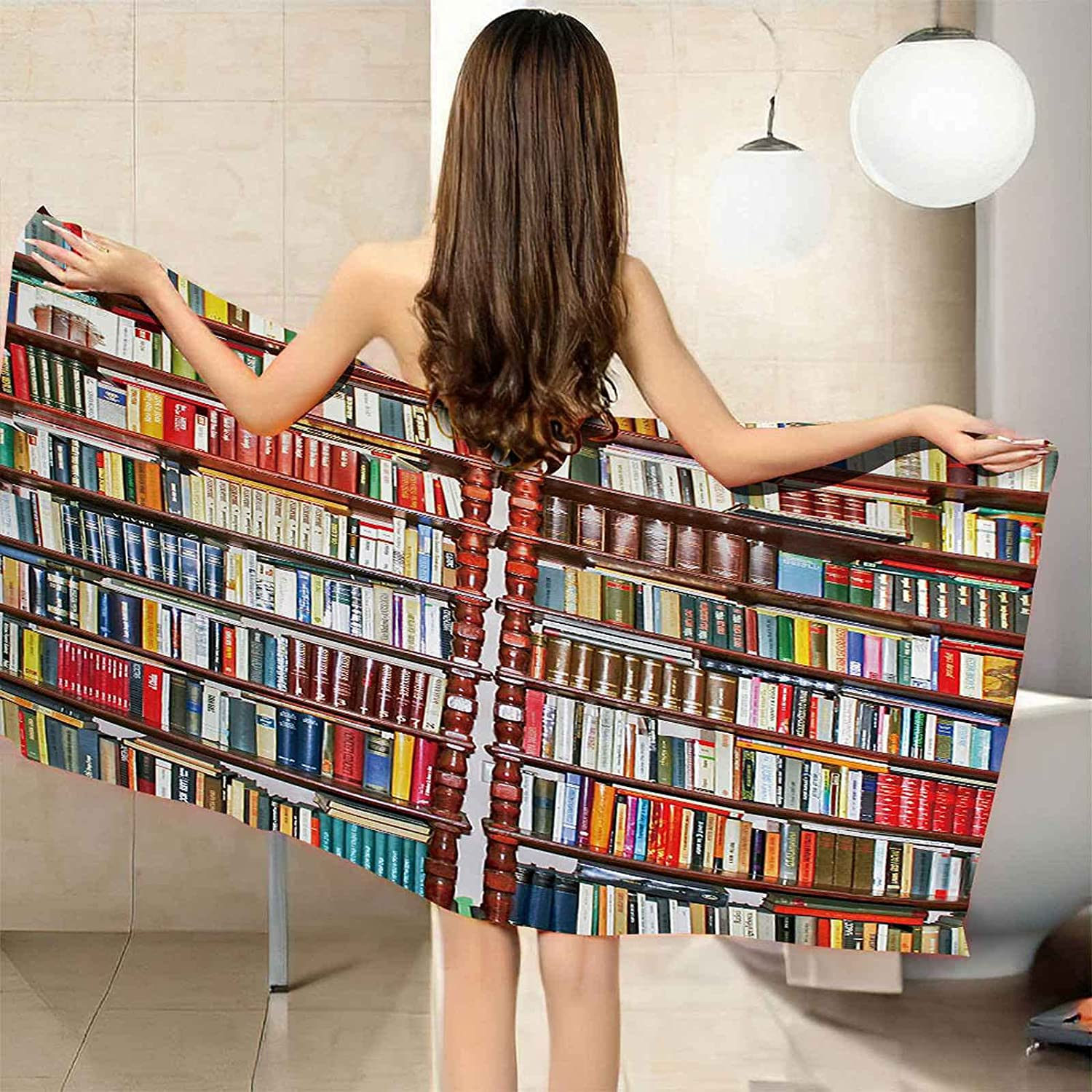 Industry No. 1 San Francisco Mall QFMMQI Large Personalized Beach Towel Quick Soft Super Bath Dry