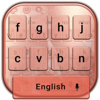 Simple Gold Rose Keyboard Theme
