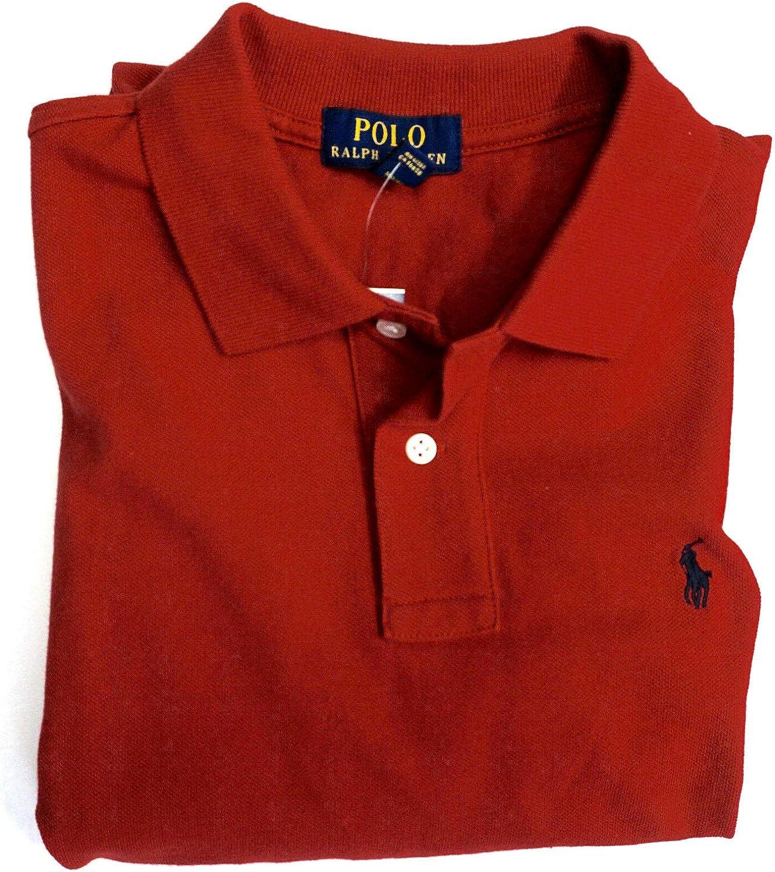 Polo Ralph free Lauren Charlotte Mall Boys Shirt Kids Short Mesh Red Sleeve Top