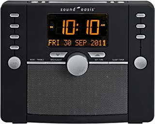 Sound Oasis S-5000 Deluxe Sleep Sound Therapy System, Black