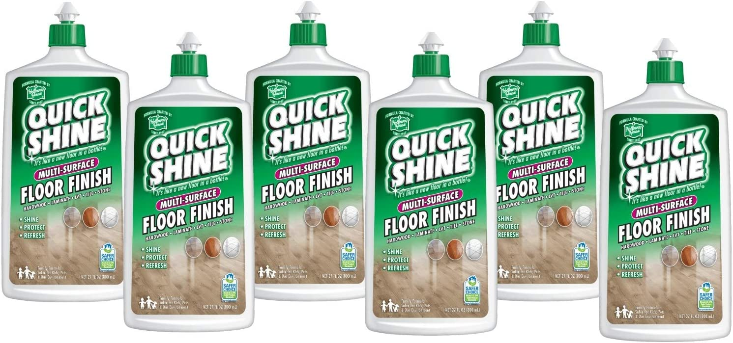 Quick Shine Multi-Surface security Floor Ultra-Cheap Deals Finish and Polish Oz. 27 Bo Fl.