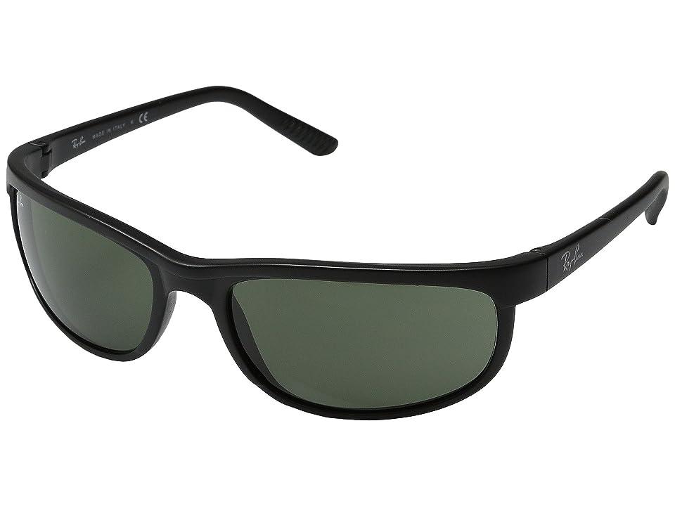 Ray-Ban RB2027 Predator 2 (Matte Black/G-15xlt Lens) Sport Sunglasses