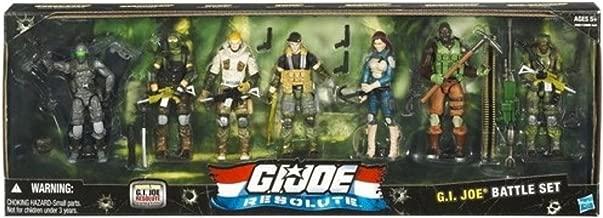 G.I. JOE Hasbro Resolute 3 3/4 G.I. Joe Action Figure Collector 7Pack Set