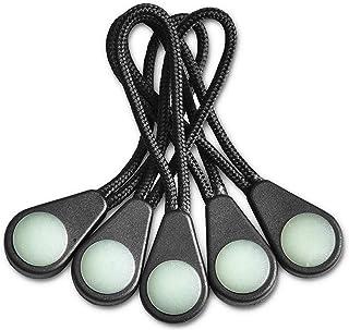 10x Glow In The Dark Zipper Pulls Replacement Cord Jacket Coat Backpack Tent New