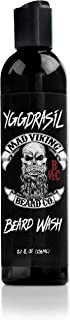 Mad Viking Beard Co. 8 Ounce Premium Yggdrasil Beard Wash with Provitamin B5, Deep Cleansing and Conditioning, All Natural, Improves Elasticity and Softness, Hydrates The Skin, Made in The USA