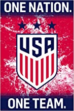 US WNT Soccer | Champions Crest Poster 2017