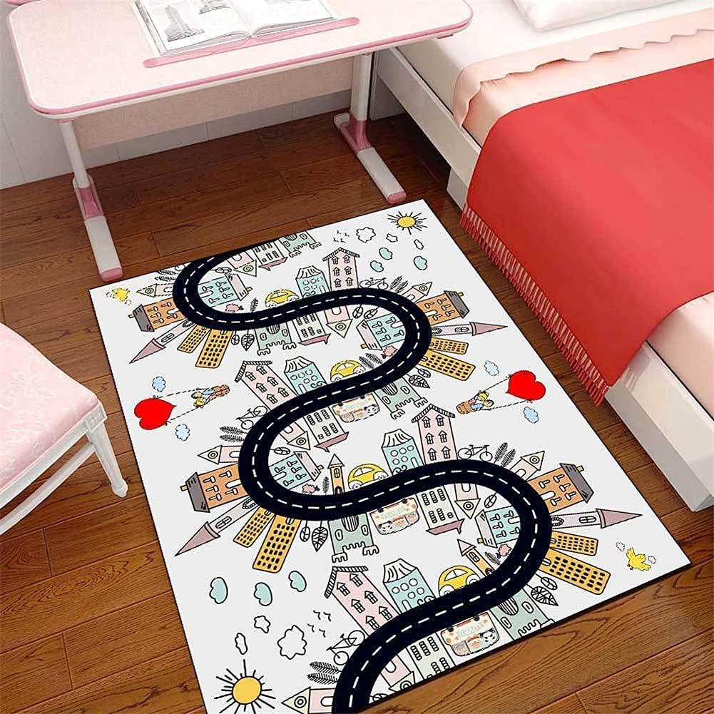 LBMTFFFFFF Carpet Rug Outlet SALE Rugs Dedication Cute Modern Cartoon