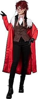 Cosfun Kuroshitsuji Black Butler Grell Sutcliff Cosplay Costume mp003219