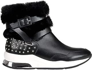 LIU JO Luxury Fashion Womens MCGLCAS000006192I Black Ankle Boots | Season Outlet