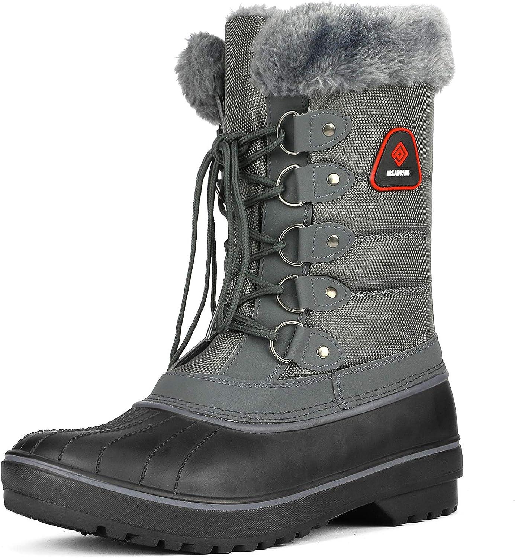 Max 51% OFF DREAM PAIRS Women's Warm half Faux Fur Snow Lined Boo Calf Mid Winter