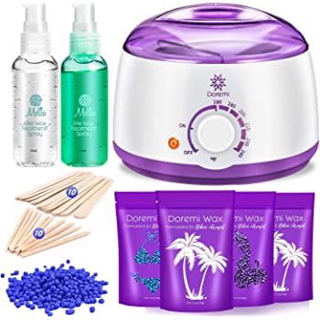 Amazon Com Doremi New Waxing Kit Painless Hair Removal Home Kit