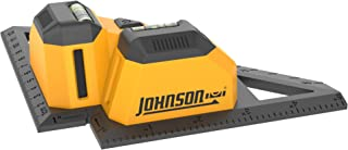 Johnson Level & Tool 40-6624 Tiling Laser with Perpendicular Lasers for Flooring Installation