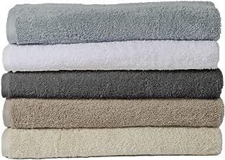Coyuchi Organic Cotton Cloud Loom Hand Towel in Slate