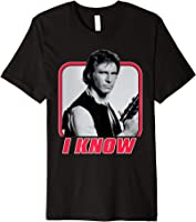 Star Wars Han Solo I Know Valentine's Day T-Shirt