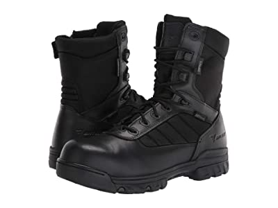 Bates Footwear 8 Tactical Sport Dryguard Side Zip Composite Toe (Black) Men