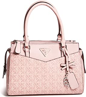 GUESS Factory Womens Desire Logo-Embossed Box Satchel