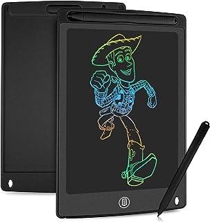 HOMESTEC Tavoletta Grafica LCD con Display Colorato 8,5 Pollici, Tavoletta Scrittura da Disegno Cancellabile con Scheda El...