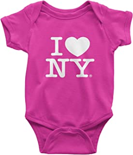 i love new york baby onesie