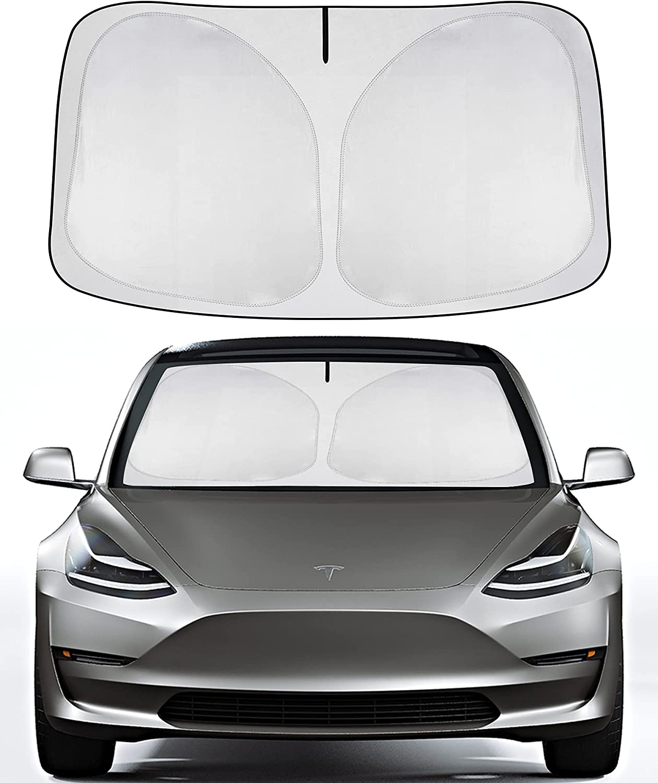 Sunshade Max 79% OFF for Tesla Model 3 VIHIMAI Y Foldable Windshield Cheap SALE Start