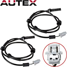 AUTEX 2PC ABS Wheel Speed Sensor Front Left & Right ALS1442 5S11191 0844380 47910JA000 Compatible with Nissan Altima 2007 2008 2009 2010-2012 2.5L 3.5L/Replacement for Nissan Maxima 2009-2013 3.5L