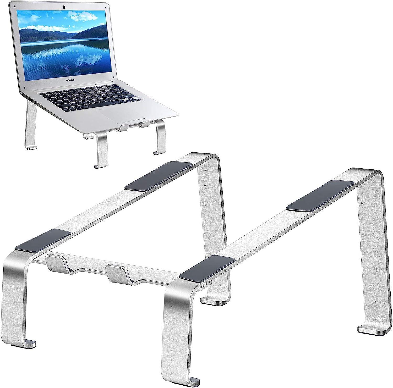 Laptop Indianapolis Mall Stand Aluminum Computer Daily bargain sale Ergonomic Elevato Riser Laptops