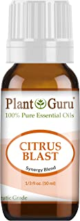 Citrus Blast Essential Oil Blend 10 ml 100% Pure, Undiluted, Therapeutic Grade. Relaxation, Boost Mood, Uplifting, Calming, Anxiety, Depression, Stress Aromatherapy, Diffuser.