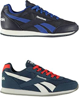 Official Brand Reebok Classic Jogger RS Trainers Juniors Boys Shoes Sneakers Kids Footwear